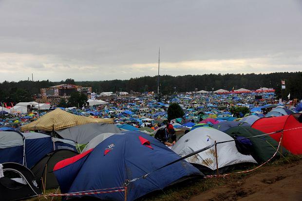 Pole namiotowe. Woodstock 2016.