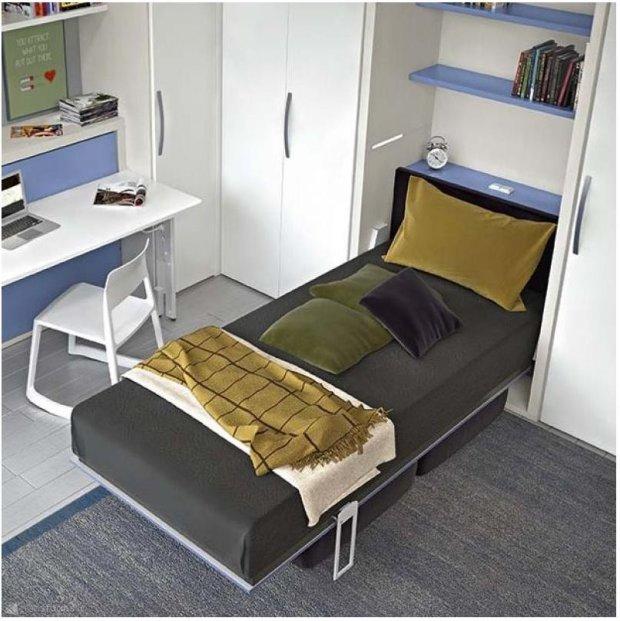 ko chowane w szafie spos b na ma y metra zdj cie nr 7. Black Bedroom Furniture Sets. Home Design Ideas