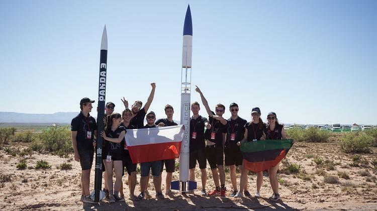 Studenci AGH i ich rakiety
