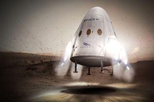 Wyprawa na Marsa opóźni się? Elon Musk sugeruje, że kapsuła Dragon nie wyląduje na Czerwonej Planecie