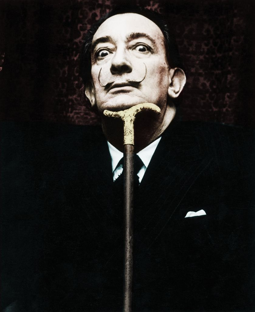 Salvador Dali, 1950, / Bettmann/Getty Images