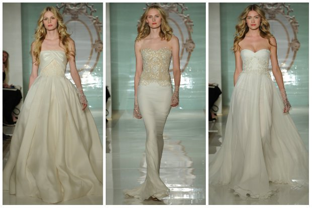 Kolekcja ślubna Reem Acra. Bliskowschodni przepych czy romantyczne retro? Co na wiosnę 2015 roku proponuje libański dom mody?