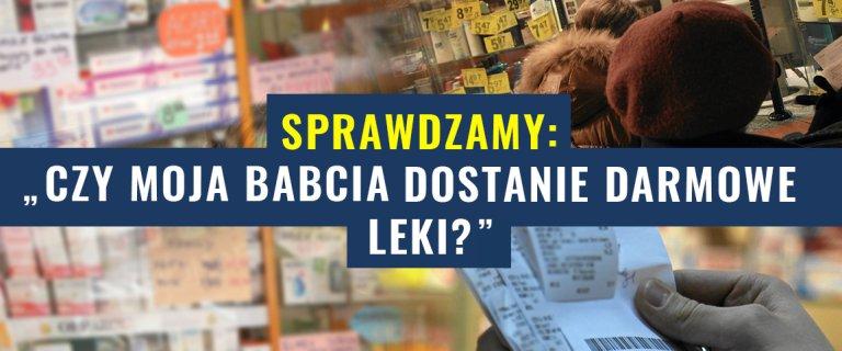 PiS obieca� seniorom darmowe leki. Czasu jest coraz mniej, a konkrety? Nadal brak