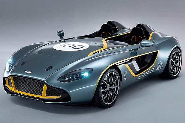 Aston Martin CC100 Speedster Concept. Happy Birthday Aston!