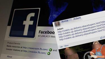 Nowy wirus na Facebooku