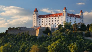 Słowacja atrakcje, Bratysława. Zamek w Bratysławie
