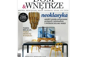 """Kwietniowy numer magazynu """"Dom&Wn�trze"""" ju� w kioskach!"""