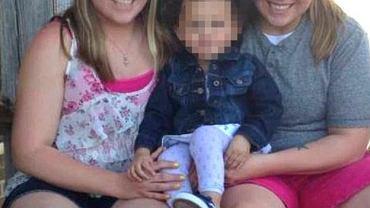 Jennifer Cramblett, jej partnerka Amanda Zinkon i ich córka Payton