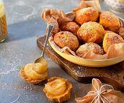 Bu�eczki ze s�odkich ziemniak�w z miodem