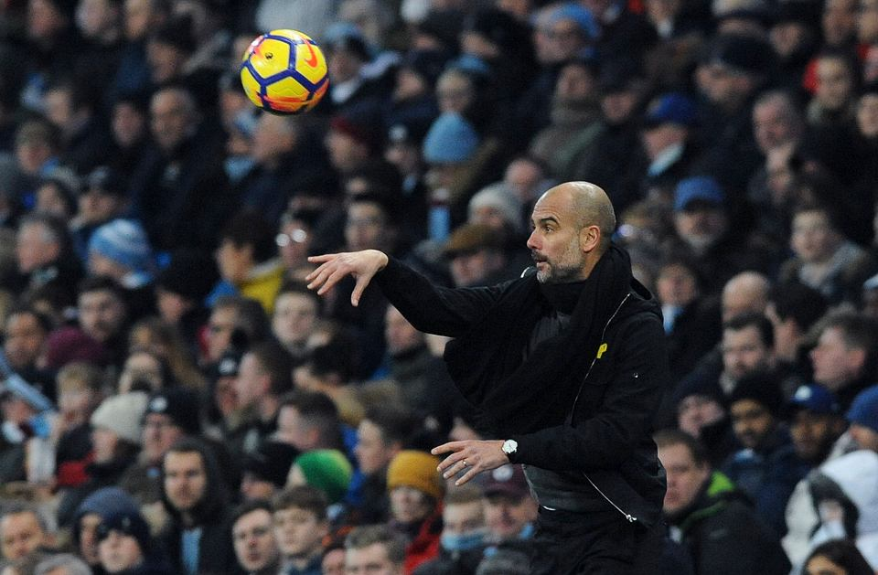 Trener Pep Guardiola, Manchester City