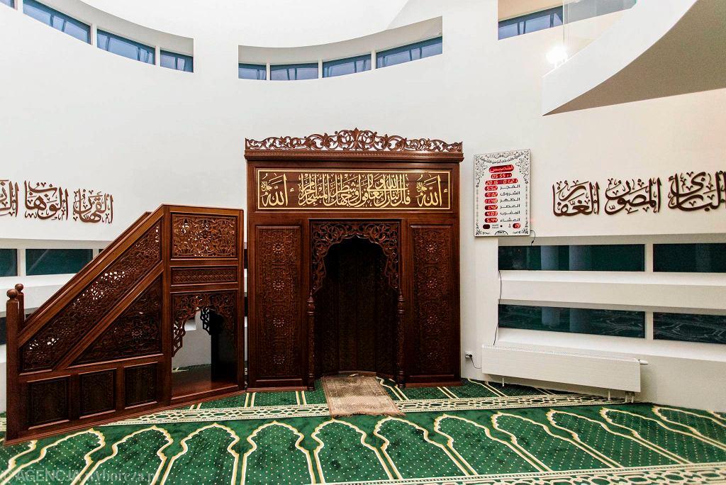 Sala modlitewna Ośrodka Kultury Muzułmańskiej w Warszawie / DAWID ŻUCHOWICZ