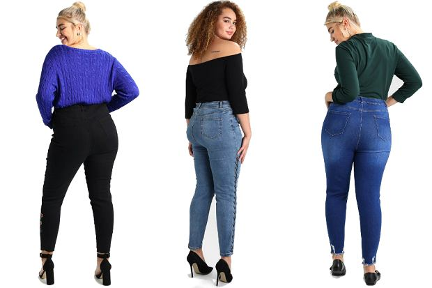 Jeansy w rozmiarze plus size! Te spodnie podkreślą twoje kształty