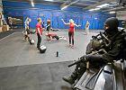 Trening z udziałem żołnierzy sił specjalnych przed biegiem Formoza Challenge