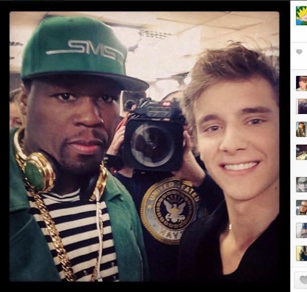 50 Cent i Maciek Musia�