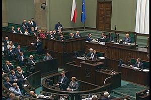 """""""Jesteście kanaliami. Zamordowaliście mojego brata"""" - Jarosław Kaczyński do opozycji w Sejmie"""