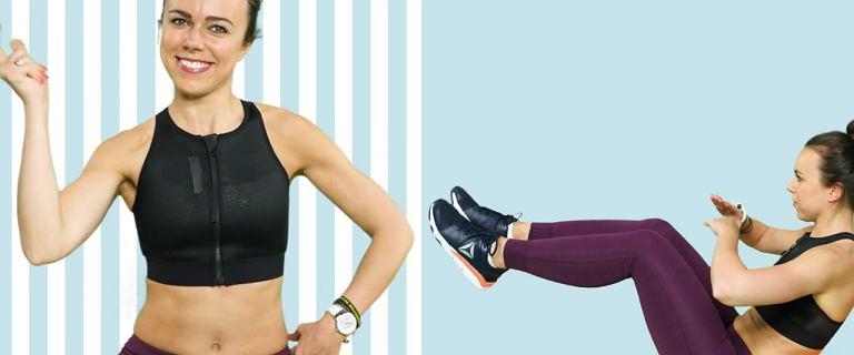 Trzy ćwiczenia na płaski brzuch, które możesz zrobić w domu [FIT EXPRESS]