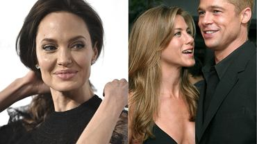 Angelina Jolie, Jennifer Aniston, Brad Pitt