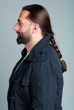 Metamorfozy: nowy styl �ukasza, styl, moda m�ska, fryzury, zarost, piel�gnacja, �ukasz po zmianach zaproponowanych przez Filipa Galasa