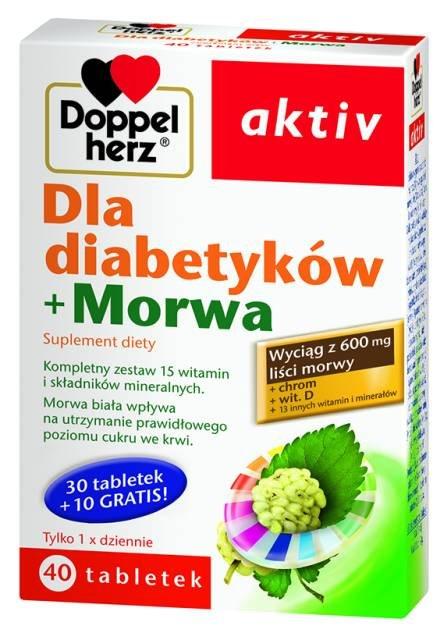 Doppelherz aktiv z morwą dla diabetyków