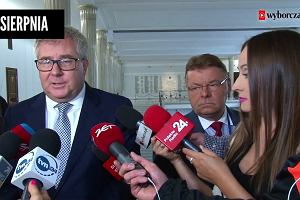 """""""Ma trzeźwe podejście do Polski"""" Ryszard Czarnecki jeszcze dwa dni temu wychwalał Merkel. PiS się przeliczył?"""