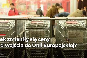 Jak zmieniły się ceny podstawowych produktów od wejścia Polski do Unii Europejskiej?
