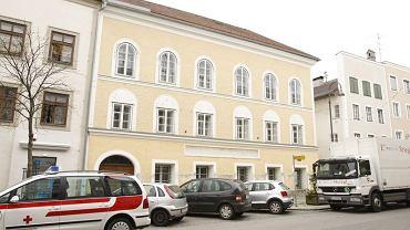 Rodzinny dom Adolfa Hitlera w mieście Braunau w Austrii