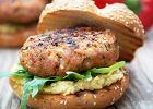 Hamburgery z past� z ciecierzycy