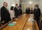 W�adimir Putin i cz�onkowie jego gabinetu, minut� ciszy uczcili pami�� ofiar boeinga