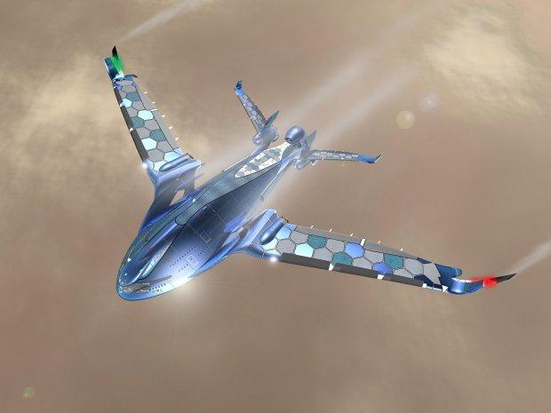 Czy tak mo�e wygl�da� samolot przysz�o�ci? Zadziwiaj�ca wizja