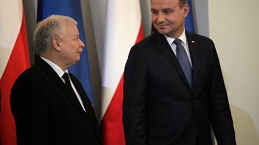 Andrzej Duda i Jarosław Kaczyński
