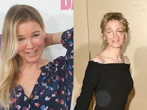 Fotoreporterzy spotkali Renee Zellweger na 54. rozdaniu nagród Gildii Operatorów i Publicystów w Beverly Hills. Aktorka prezentowała się lepiej niż w 2014 roku, ale do naturalności jest jeszcze daleko.