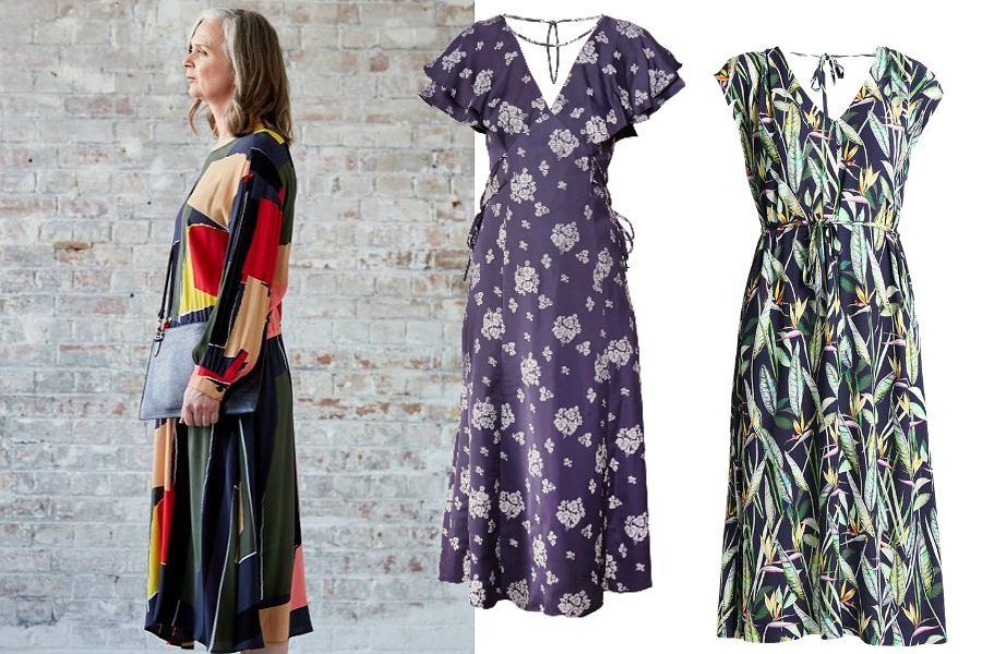 Letnie sukienki dla pań 50+ długie