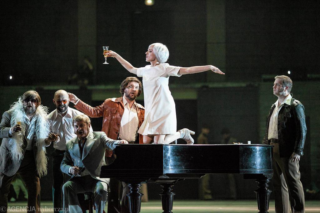 Teatr Wielki Opera Narodowa, próba medialna spektaklu ' Eros i Psyche ' w reżyserii Barbary Wysockiej / DAWID ŻUCHOWICZ