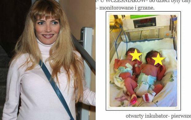 Małgorzata Lewinska, Antek i Franek, synowie