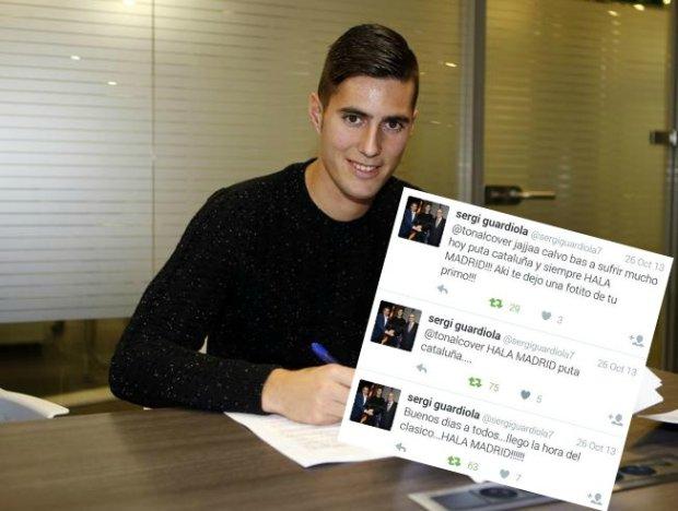 Barcelona zwolni�a pi�karza kilka godzin po podpisaniu z nim kontraktu