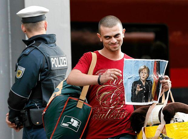 5 września 2015 r. Tego dnia w poszukiwaniu azylu do Monachium przyjechały setki uchodźców