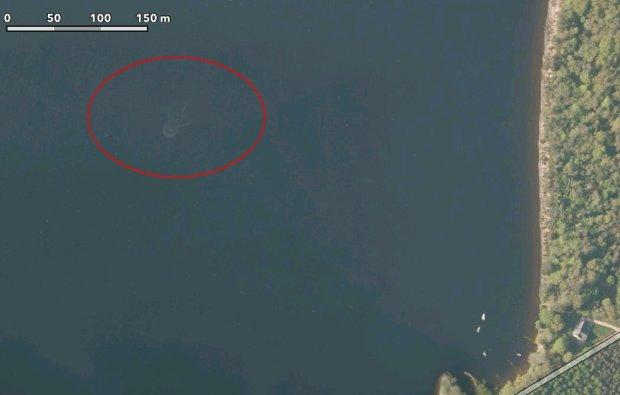 """Potw�r z Loch Ness sfotografowany przez satelity? Tajemnicze zdj�cie na mapach Apple'a to jednak nie """"Nessie"""""""