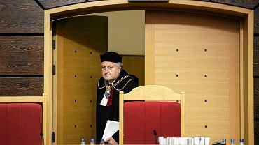 Prezes Trybunału Konstytucyjnego Andrzej Rzepliński n