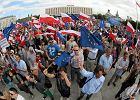 """PO organizuje w Warszawie """"błękitny marsz"""""""
