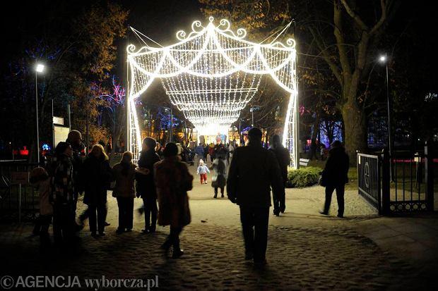 Zdj�cie numer 17 w galerii - Niesamowita iluminacja pa�acu i ogrodu w Wilanowie