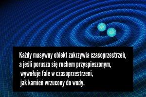 Fale grawitacyjne zarejestrowane na Ziemi. Ich istnienie przewidzia� ju� Einstein