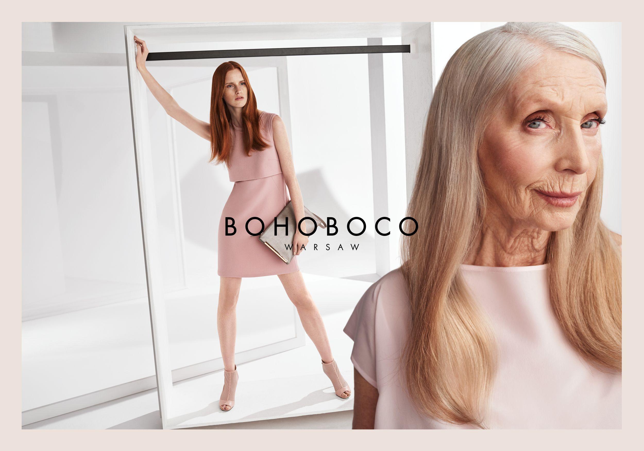 Helena Norowicz w kampanii Bohoboco (fot. Bohoboco)