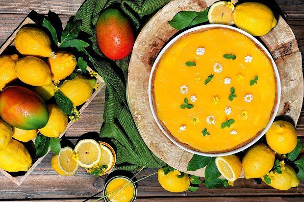 Tarta cytrynowa z mango [PRZEPIS]