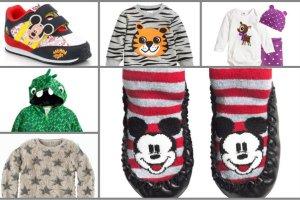 Pomysł na praktyczny gwiazdkowy prezent dla najmłodszych - ubrania i dodatki