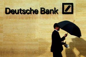 Szalony dzie� Deutsche Banku. W kilka godzin od paniki do euforii