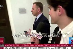 """""""Pościgowy reporter"""" TVP kontratakuje. Tym razem na cel wziął posła Nitrasa"""