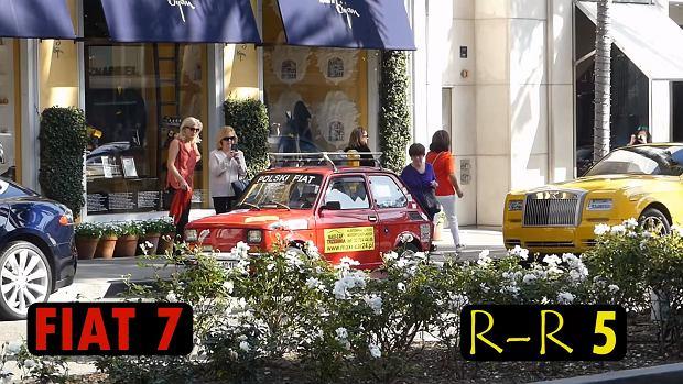 Fiat 126p w Los Angeles