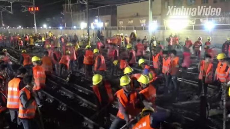 Modernizacja trasy kolejowej