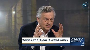Prof. Andrzej Zybertowicz z Kancelarii Prezydenta RP w programie 'Fakty po faktach'