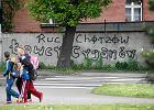 Rasistowskie napisy przeciwko Romom na ulicach Siemianowic